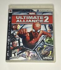 Marvel Ultimate Alliance 2 - PS3 Complete in Box CIB Free Shipping