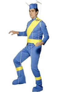 Puppet String Frame Costume Mens Fancy Dress Pinocchio Thunderbirds Halloween