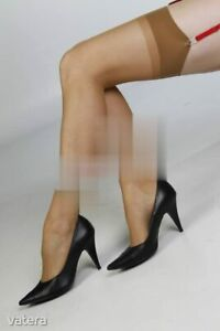 Ultra sexy, super elastic, classic crepe nylon stockings - Brown extra long!!!