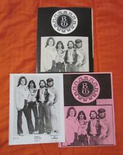 BACHMAN TURNER OVERDRIVE 1978 1979 BTO Rock Roll Nights 3 pc. Photo Press Kit