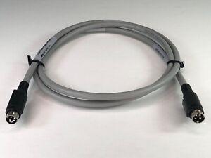 "NEW GENUINE OEM MOLEX 4-PIN KYCON POWER CONNECTOR MINI DIN PLUG PANEL 53"" CABLE"