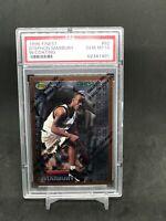 STEPHON MARBURY 1996-97 Topps Finest #125 Gem Mint PSA 10 Rookie RC W/Coating