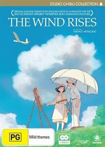 The Wind Rises (DVD) *Brand New**Sealed*