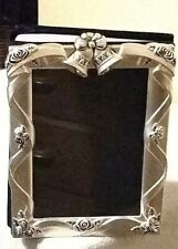 Godinger Silver Plated Satin Finish Wedding Picture Album 4x6 Great Condition