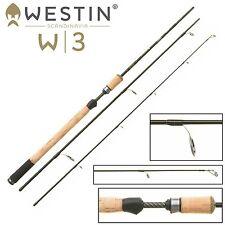 Westin W3 Spin ML 240cm 5-25g - Spinnrute fürs Forellen- und Barschangeln