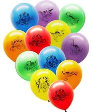"30 Dinosaur World Jurassic Style Party Balloon Pack - Large 12"" Latex Balloons"