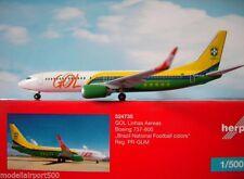 HE524735 HERPA GOL 737-800 1/500 BRAZIL NATIONAL FOOTBALL
