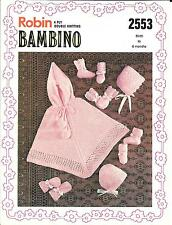 0a949ae23c69 Robin Crocheting   Knitting Patterns Baby Items