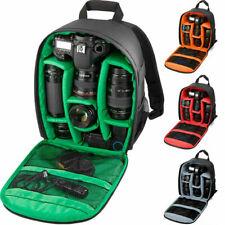 Large DSLR Outdoor Waterproof Camera Backpack Shoulder Bag Case For&Canon Nikon