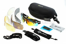 RockBros Polarized Cycling Glasses UV400 Walk Run Ride Sunglasses 5 Lens