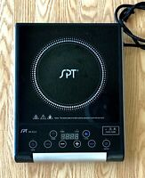 SPT RR-9215 Micro-Computer Radiant Induction Hot Plate Burner Portable Cook Top