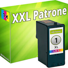 1x XXL TINTE PATRONEN REFILL für LEXMARK Nr. 1 für X2310 X2315 X2330 X2350 Z730