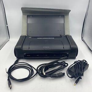 HP Officejet H470 Mobile Inkjet Printer AC Adaptor USB 2.0 Cable HP CASE