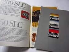 Mercedes Prospekt C 107 - 280/350/450 SLC - Druck 12/1974 - 36 Seiten - TOP !