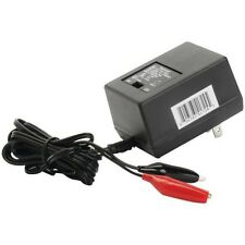 UPG D1724 Dual 6v 12v 500ma battery charger with Alligator clips