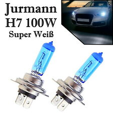 2x Jurmann H7 100W 12V Super White Xenon Look Headlight Ersatz Lampe Off-Road