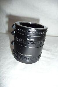 Extension tube VIVITAR AT-21 36 20 12 mm PENTAX mount ... X28