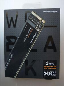 Western Digital WD BLACK SN750 1TB NVMe M.2 2280 Internal Solid State Drive SSD