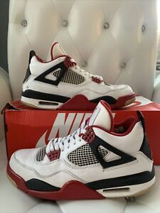 Jordan 4 Retro Fire Red 2012 Size 9.5