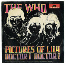 The Who. Pictures of Lily. Doctor Doctor. Vinyl Single