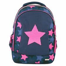 TOPModel School Backpack, Star Rev. Sequins, Navy
