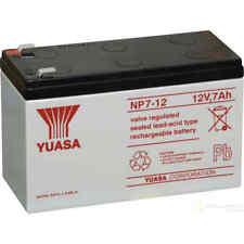 NP7-12 Yuasa 12v 7Ah Lead Acid Battery (NP7-12S)