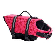 Pet Aquatic Reflective Preserver Float Vest Dog Saver Life Jacket Safety Clothes