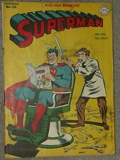 Superman #38 Golden Age.  Jan/Feb 1946  Censored Atomic Bomb Story