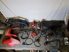 Hyosung Suzuki TN 125 - Parts Spares Joblot Export - Panel Seat Lights Carb