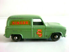 "VINTAGE MATCHBOX LESNEY FORD THAMES ""SINGER"" VAN NO 59a PALE GREEN (UNBOXED)"