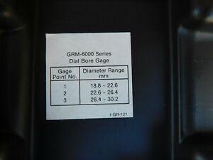 SUNNEN DIAL BORE GAUGE GRM 6245 METRIC FACE 18-30 MM