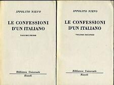 Ippolito Nievo = LE CONFESSIONI D'UN ITALIANO 2Voll. BUR 761-770