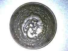 CHINA 1909 EMPIRE 20 CASH - COPPER - TAI-CHING-TI-KUO