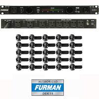 Furman PL-Pro C Power Conditioner With Voltmeter + 25 Rack Screws & Warranty