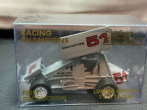 Racing Champions #51 First Production Prototype Sprint Car 1/64 Diecast
