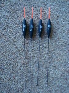 Set of 4 Genuine Chianti pole floats 2 x 0.6g & 2 x 0.5g Red Tips