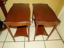 Pair of Mahogany Tables
