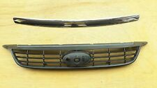 FRONT GRILLE UNPAINTED for FORD FOCUS LV 03/2009-03/2011 W/HOOD MOLDING TRIM