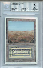 MTG Revised Dual Land Scrubland BGS 9.0 (9) Mint Magic Card WOTC 1469