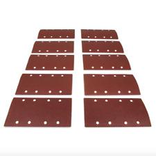 Wen 1/3 Sheet 240 Grit Sander Hook and Loop Abrasive Sanding Sandpaper 10 Pack