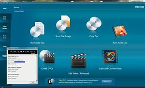 Roxio Creator Pro 2012 dvd