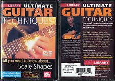 Learn Memorize & Use Scale Shapes Guitar Lessons Lick Library Video DVD NEW
