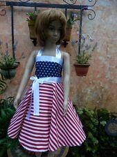 MÄDCHEN Rockabilly Petticoat Fest USA Kind Kleid,98,104,110,116,122,128