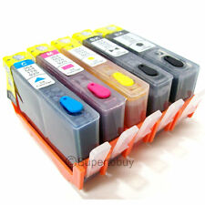 Non-OEM Refillable Ink Cartridge for HP 564/564XL Photosmart D5445 7520 6525