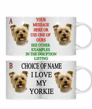 YORKIE  DOG PERSONALISED/FUNNY/OWN PHOTO MUG