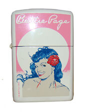 Zippo Lighter Vintage Bettie Page Pinup Jim Silke from Dark Horse Series