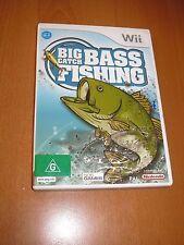 Nintendo Wii - BIG CATCH BASS FISHING + BOOKLET MANUAL