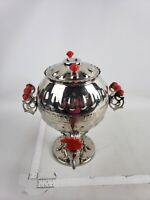 USSR Soviet Russian Electric Vintage Rooster Samovar - Tea Collectible