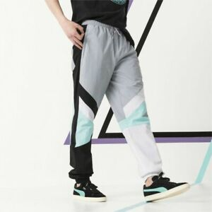 Puma x Diamond Track Pants Gray Black White Sportswear Active Wear Trousers