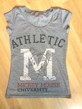 DISNEY - T-shirt gris imprimé Mickey ♥ Taille 12 ans (XS) ♥ TBE !!